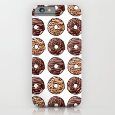 Chocolate Donuts Pattern iPhone 6s Slim Case