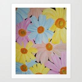 Daisy's Galore Art Print
