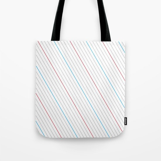 Simple Lines Tote Bag