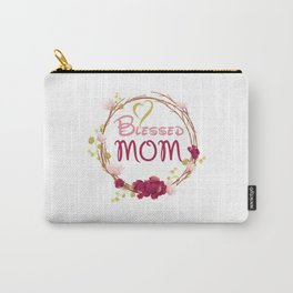 Blessed MOM Carry-All Pouch