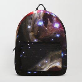 Light Echo illuminates dust around supergiant star V838 Monocerotis Backpack