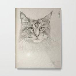 Maomi猫咪 Metal Print