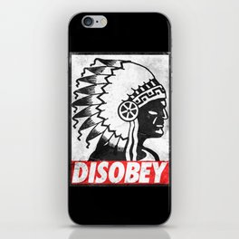 Indian disobey iPhone Skin