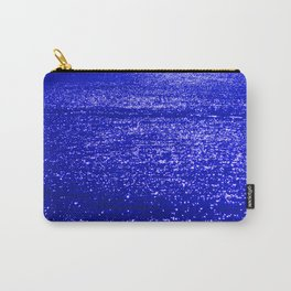 Sparkling Blue Water Carry-All Pouch