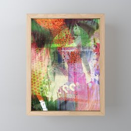 Elizabeth and Union Square Glitch Framed Mini Art Print