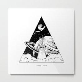 Explore v2 Metal Print