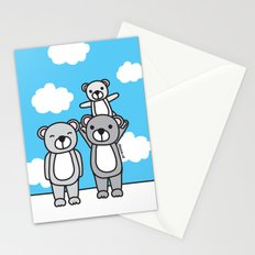 Polar Bear Family Stationery Cards