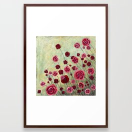 Stonewashed Garden Framed Art Print
