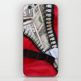 Money Bag iPhone Skin