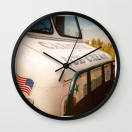 Scorched Carnival Wall Clock