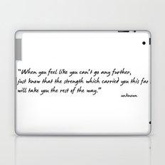 Go further! Laptop & iPad Skin