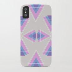 TRIANGLES IN COLOUR iPhone X Slim Case