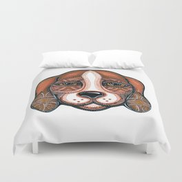 Dog-Beagle Duvet Cover