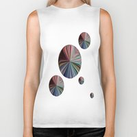 circle Biker Tanks featuring circle by  Agostino Lo Coco