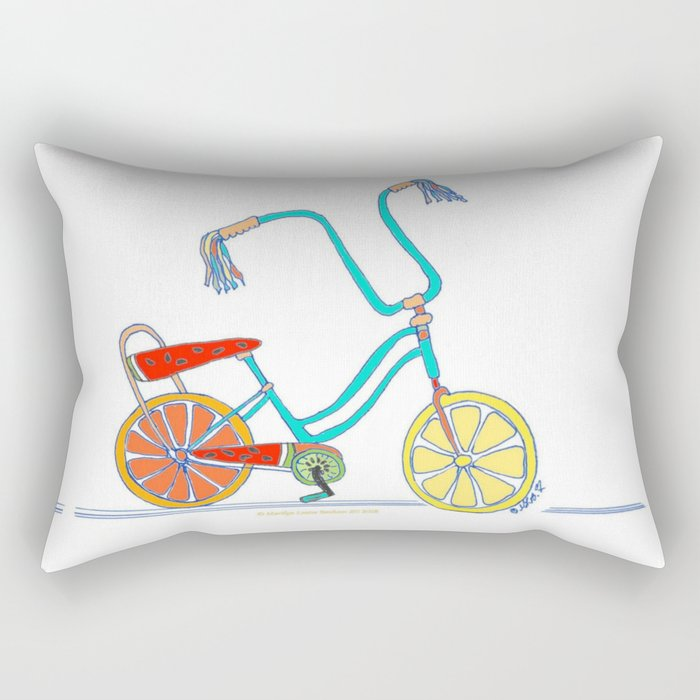 Slice Of Life Rectangular Pillow