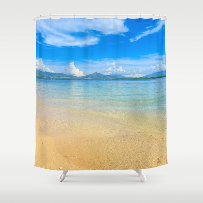 Cowrie Island Shower Curtain