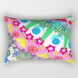 Plant Abstract Rectangular Pillow