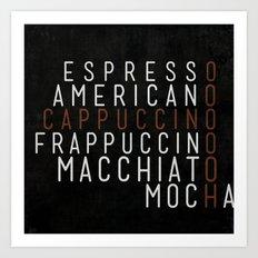 Coffee 03 Art Print