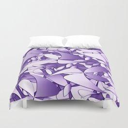 Pattern violet 211 Duvet Cover