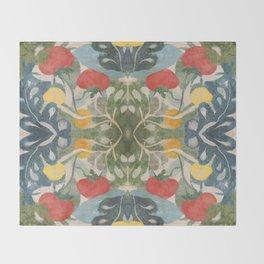 Solanum II Throw Blanket