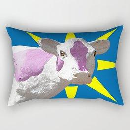 POW! Cow Rectangular Pillow