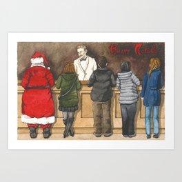 Italian Christmas Card no.6 Art Print