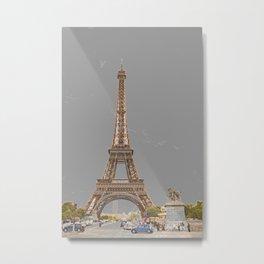 Le Tour Eiffel Metal Print
