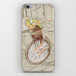 Bicicletta Fiorita iPhone Skin