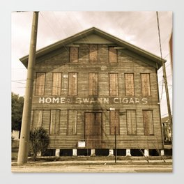Historic Ybor Building Canvas Print