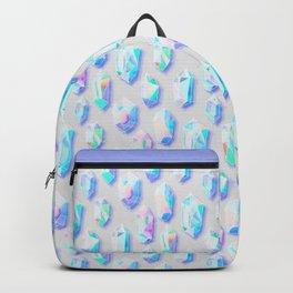 Iridescent Rainbow Crystals Backpack