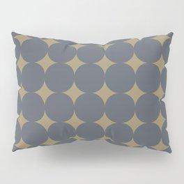 FOSSIL simple caramel and indigo design Pillow Sham