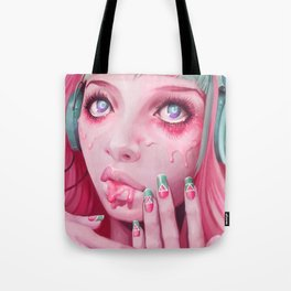 FaceMelt Tote Bag