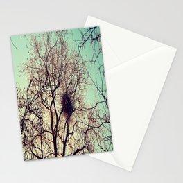 The hidden birds nest  Stationery Cards