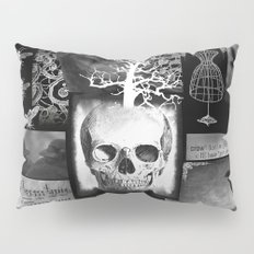 Crow And Lace Pillow Sham