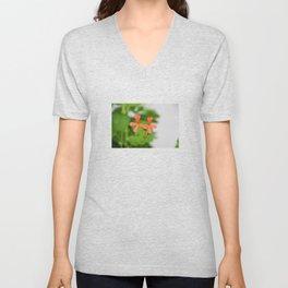 Geraniums (Pelargonium) #3 Unisex V-Neck