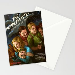 The PuppetMaster Stationery Cards