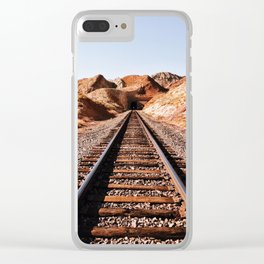 Lonesome Whistle Clear iPhone Case