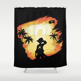 The Pirate King Shower Curtain