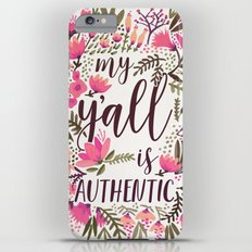 My Y'all is Authentic – Vintage Palette iPhone 6s Plus Slim Case