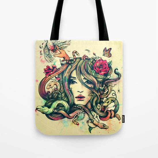 Beauty Before Death Tote Bag