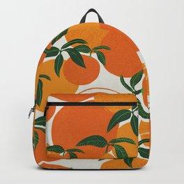 Tangerine orange Backpack