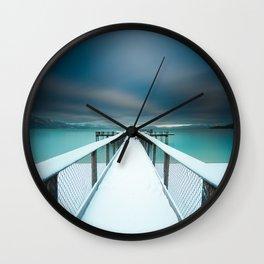 lake Tahoe Wall Clock