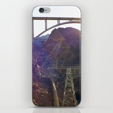 Hoover Dam Electicity Towers iPhone & iPod Skin