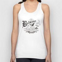 castlevania Tank Tops featuring Belmont Pest Control Specialists by Greg Barnes