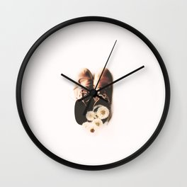do small things with much love Wall Clock