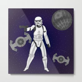 storm trooper Metal Print