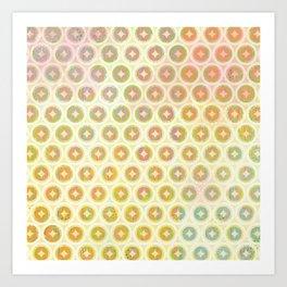 Star Dots Art Print