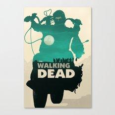 Daryl Dixon - Teal Canvas Print