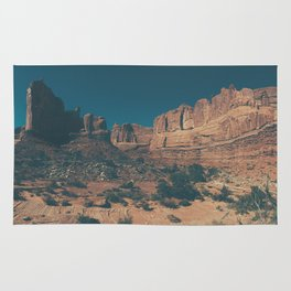 Arches National Park Panoramic Rug