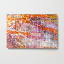 Colorful Geode Metal Print